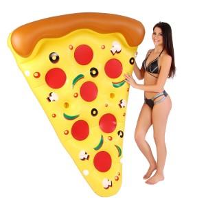 Nagyméretű pizzaszelet gumimatrac