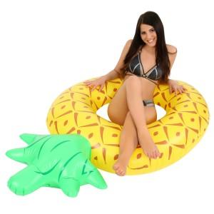 Nagy méretű ananász formájú úszógumi