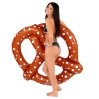 Nagy méretű perec formájú gumimatrac
