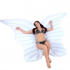 Óriási pillangó gumimatrac - fehér